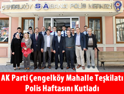 Polis Teşkilatı'nın 168. yılı Çengelköy'de kutlandı