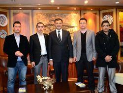 Samed Mustafa Kara'yı ziyaret etti