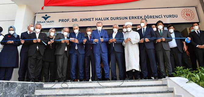 Üsküdar'daki Şehriban Hatun Camii ve Kur'an Kursu'nun açılışını Cumhurbaşkanı Recep Tayyip Erdoğan yaptı