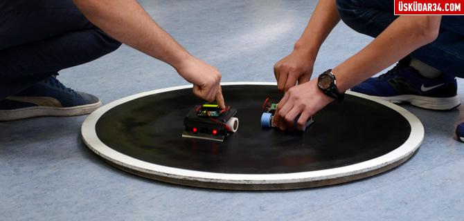 Sumocu Robotlar Üsküdar'da kapıştı