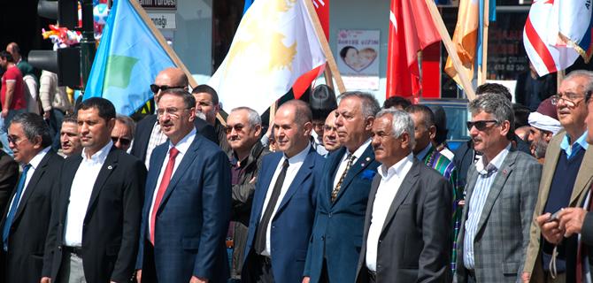 Türk Dünyasının Kalbi Mustafakemalpaşa'da attı