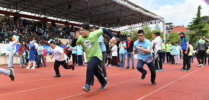 Türkiye'nin En ''Özel'' Yarışı Üsküdar'da gerçekleştirildi