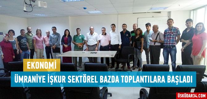 Tekstil Firmaları Ümraniye İşkur'da buluştu