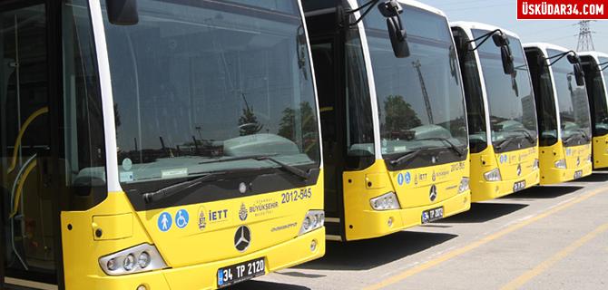Üsküdar'a 14 yeni İETT hattı kazandırıldı
