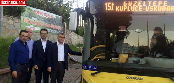 �sk�dar'a yeni otob�s hatt�: 15�