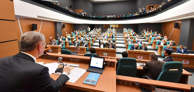Üsküdar Belediyesi, 8. Dönem ilk Belediye Meclis Toplantısı yapıldı