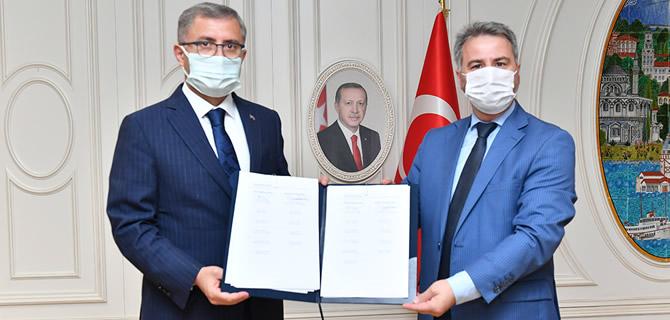 Üsküdar Belediyesi Hizmet-İş Sendikası ile toplu İş Sözleşmesi imzaladı