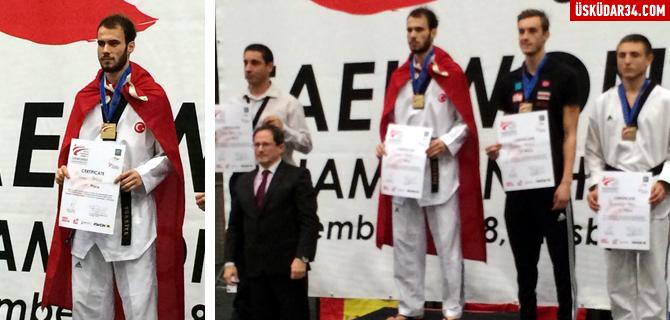 �sk�dar Belediyesi Sporcusu Berkcan S�ng� Avrupa �ampiyonu oldu