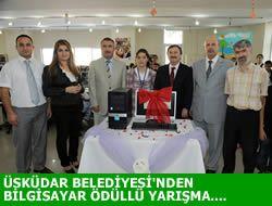 Üsküdar Belediyesi'nden Başarıya Ödül...