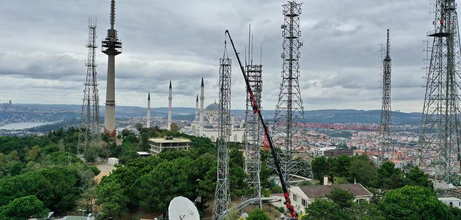 Çamlıca Anten Kulesi yayına başladı