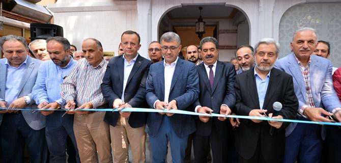 Çengelköy Hamdullah Paşa Camii'nin açılışı yapıldı