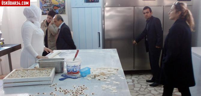 Üsküdar'da fırın ve imalathaneler denetlendi