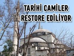 Üsküdar'da tarihi camiler restore ediliyor