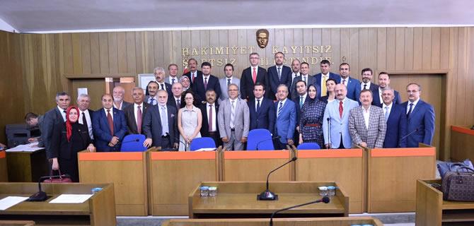 Eski Belediye Binasında Son Meclis Toplantısı yapıldı