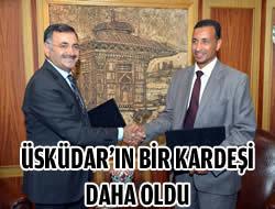 Üsküdar'a yeni ''Kardeş Şehir'' Libya'dan!..
