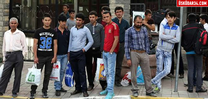 K���ksu'daki amele pazar�nda Afganlar tercih ediliyor