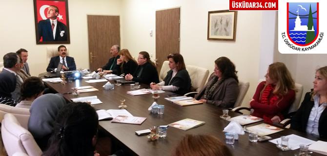 Üsküdar Kaymakamlığı, İSTKA 2015 bilgilendirme toplantısı düzenledi