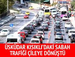 Kısıklı trafiği vatandaşı isyan ettirdi