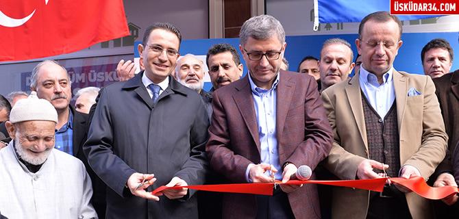 Üsküdar'ın 2. Kentsel Dönüşüm Ofisi Mehmet Akif Ersoy Mahallesi'nde açıldı