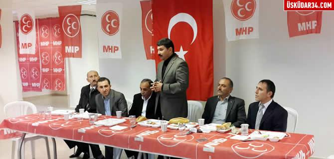 �sk�dar MHP'de kongre �ncesi isti�are toplant�lar� s�r�yor