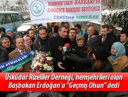 Başbakan Erdoğan'a hemşehri ziyareti