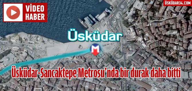 Üsküdar-Sancaktepe Metrosu'nda sona yaklaşıldı