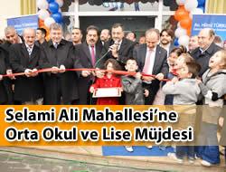 Selami Ali Spor Merkezi ve Bilgi Evi Hizmete Açıldı