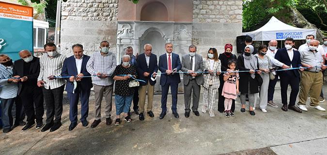 Tarihi Çengelköy Bekardere Çeşmesi yeniden su ile buluştu