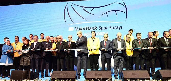 Üsküdar Vakıfbank Spor Sarayı açıldı