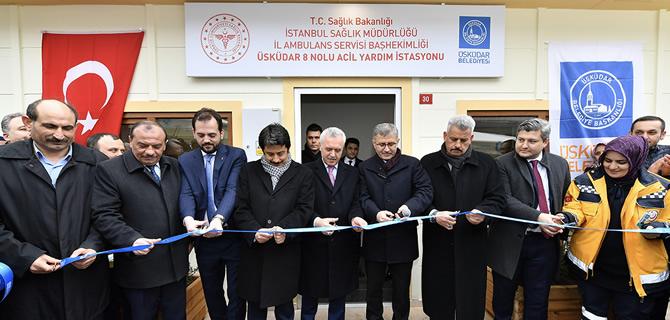 Yavuztürk 112 Acil Servisi'nin açılışı gerçekleştirildi