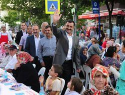 Zeynep Kamil, Kadir Topbaş'ı misafir etti