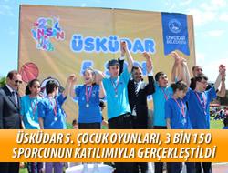 Üsküdar'da 23 Nisan Çocuk Olimpiyatları