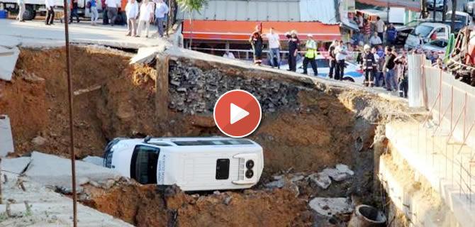 Üsküdar Yavuztürk Mahallesi Bosna Bulvarı üzerinde yapımı devam eden bir alışveriş merkezinin inşaatında göçük meydana geldi. Göçükte 1 kişi hafif şekilde yaralandı.