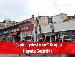 Üsküdar'da ''Cephe İyileştirme'' Projesi Başladı.