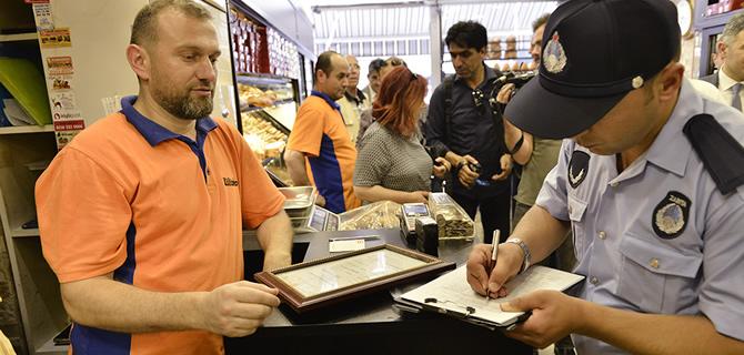 Üsküdar'da fırın denetimleri hız kesmeden devam ediyor