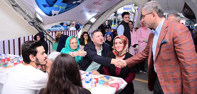 Üsküdar'da Ramazan ve ilk iftar heyecanı yaşandı