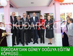Üsküdar'dan Güneydoğu'ya Eğitim Köprüsü...