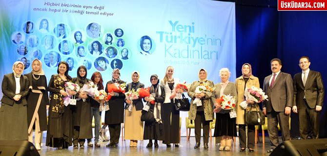 ''Yeni T�rkiye'nin Kad�nlar�'' �sk�dar'da bulu�tu