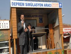 Üsküdar'da Sanal Deprem Eğitimi...
