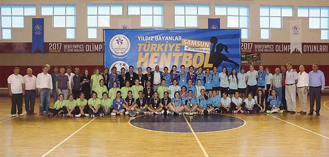 Hentbol Y�ld�z Bayanlar T�rkiye �ampiyonas� sona erdi