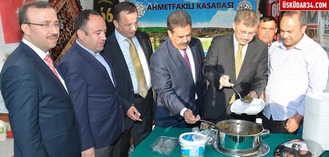 ''Yöresel Günler Festivali'' Üsküdar'da başladı