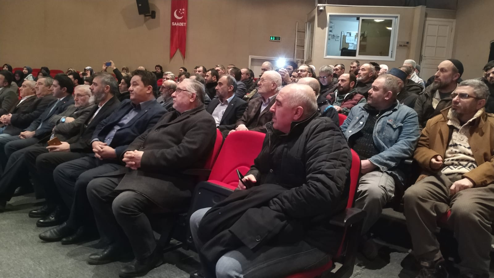 Saadet Partisi Üsküdar İlçe Başkanlığı 7. Olağan Kongresi'nde Yusuf Baydar ilçe başkanı olarak seçildi.