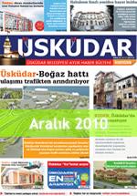 Üsküdar Belediyesi Aylık Haber Bülteni - Aralık 2010