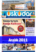 Üsküdar Belediyesi Aylık Haber Bülteni - Aralık 2011