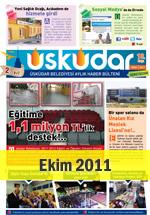 Üsküdar Belediyesi Aylık Haber Bülteni - Ekim 2011