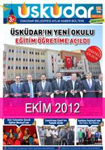 Üsküdar Belediyesi Aylık Haber Bülteni - Ekim 2012