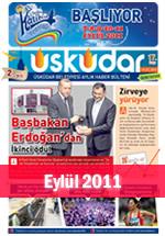 Üsküdar Belediyesi Aylık Haber Bülteni - Eylül 2011