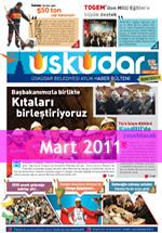 Üsküdar Belediyesi Aylık Haber Bülteni - Mart 2011