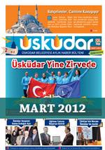 Üsküdar Belediyesi Aylık Haber Bülteni - Mart 2012