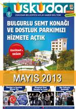 Üsküdar Belediyesi Aylık Haber Bülteni - Mayıs 2013